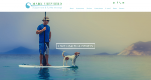 Mark Shepherd website | Website design services by The Salty Gecko